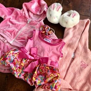 7pc Build-A-Bear Pink Passion Collection 🌸💖💘